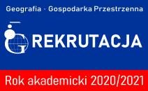 Rekrutacja na kierunki: Geografia i Gospodarka Przestrzenna na Wydziale Geografii i Studiów Regionalnych UW