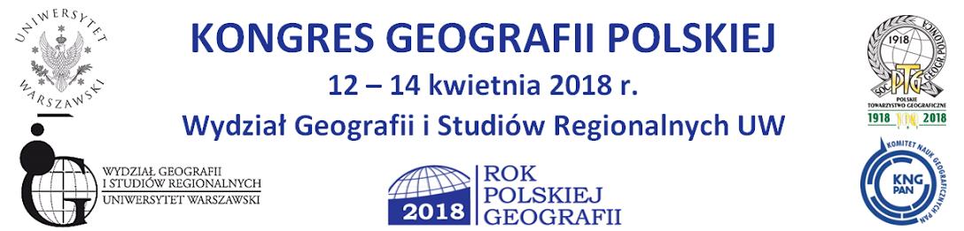 Znalezione obrazy dla zapytania kongres geografii polskiej uw